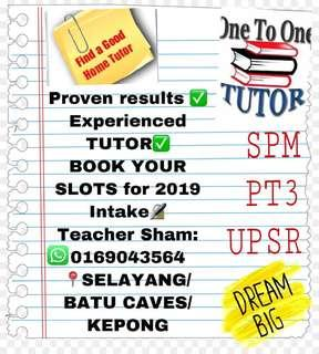 HOME TUITION AVAILABLE SELAYANG