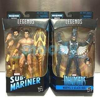 Marvel Legends Black Panther Sub-Mariner, Black Bolt