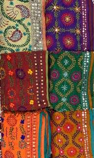 Women's scarf (India style)