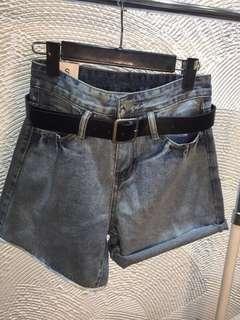 🚚 花苞牛仔褲(可兩穿)