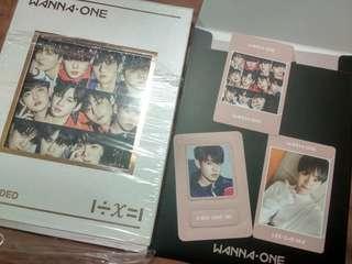 Wanna One Album Unsealed