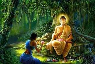 GAutam buddha gold platted coin