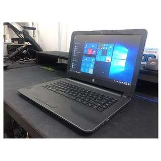 "HP 14"" Slim & LightWeight Laptop + MS Office For Cheap Sale"