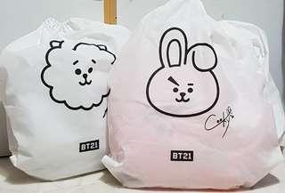 🚚 BT21 30cm Cushions (Cooky left)
