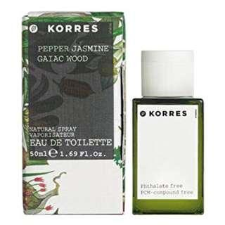 46534d863 BNIB KORRES Pepper Jasmine & Gaiac Wood Eau De Toilette Spray 50ml