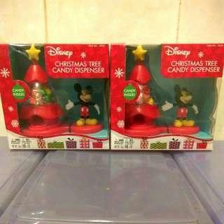 迪士尼 聖誕樹糖果分發機 Disney Christmas Tree Candy Dispenser