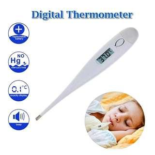 Digital LCD Thermometer With Beeper Sound