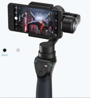 95%新 DJI Osmo Mobile 1 手持三軸雲台穩定器 Camera Gimbal - iPhone X Xs Max XR/ Andtroid 手機均合用