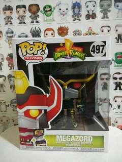 🚚 Funko Pop Black & Gold Megazord Exclusive Vinyl Figure Collectible Toy Gift Movie Comic MMPR Mighty Morphin Power Ranger