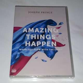Pastor Joseph Prince - Amazing Things Happen When You Flow With The Spirit 3-DVD Album Set, New Creation Church