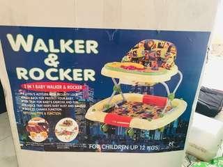 Pre-Loved Sweet Cherry Walker & Rocker