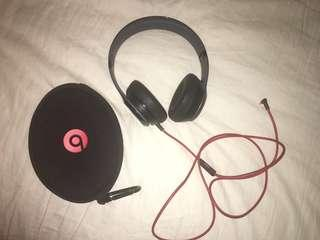 Beats Headphones Solo Black