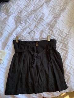 Glassons black tie skirt
