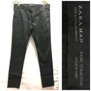 Zara Man Blk Pants