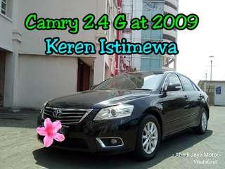 Toyota Camry 2.4 G at 2009, Service Record, Hitam Keren Abizzz ##