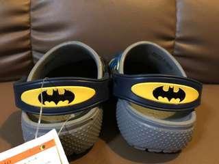 Authentic Crocs Batman size C7
