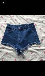 Urban Outfitters high wasted shorts