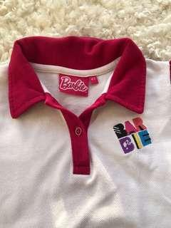 Authentic barbie shirt for girls 4t