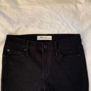 Gap Black Jeans Size 25R