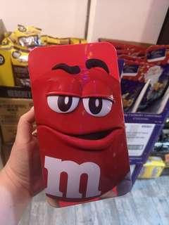 M&M's in Tin Can