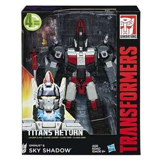 Looking For, WTB, Transformers Titans return, Sky Shadow and Ominus and Overlord and Dreadnaut.