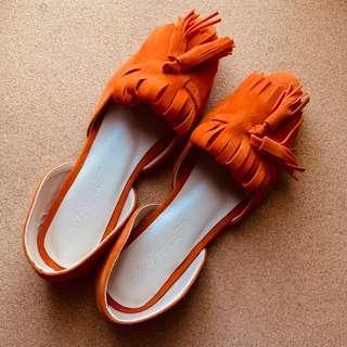 Custom-Made Shoes Orange