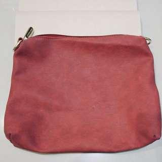 pouch michael kors red burgundy