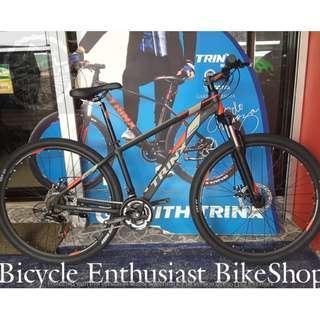 2018 Trinx M136 Quest 29 Alloy Mechanical Shimano Parts Bicycle Bike MTB Cycling Biking Internal Cabling