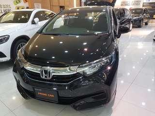 Honda hybrid shuttle new car for grab