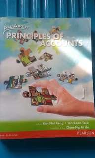 Principles Of Accounts Textbook n workbook