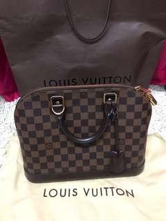 LV Alma PM Ebene Canvas (Authentic)