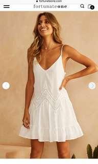 Fortunate One Store White Dress