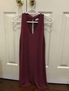 Wilfred ethere dress in mauve [XS]