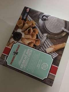 Krumkake Iron Pizzelle Press