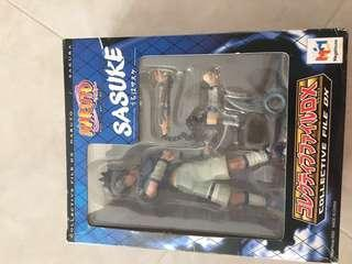 Naruto Uchiha Sasuke Collective File Dx collector's item