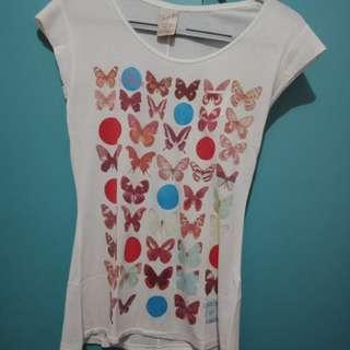 Zara M Butterfly Top
