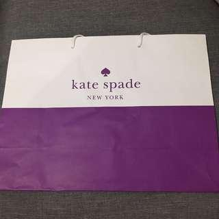 Authentic Kate Spade Paper Bag