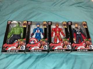 Avengers 2 Iron Man Thor Captain America Hulk