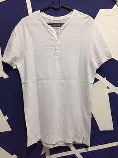 Pull & Bear White T-Shirt
