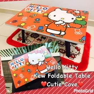 *IN STOCK IN SG* Hello Kitty Kew Foldable Table