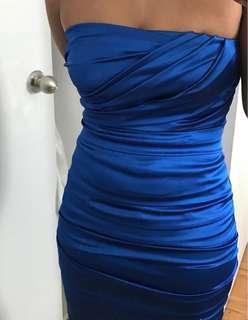Le Chateau strapless dress