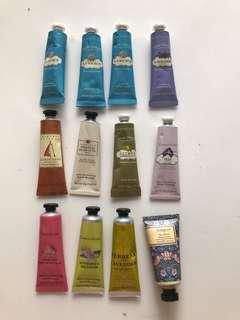 12-piece Crabtree & Evelyn Moisturising Hand Therapy 25ml