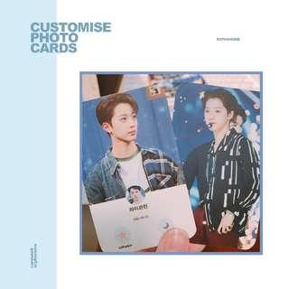 [NOT TAKING ORDERS] CUSTOMISE PHOTOCARDS