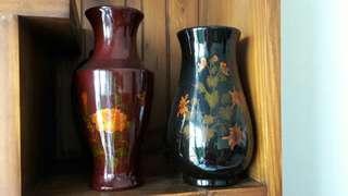 漆器竹子花瓶