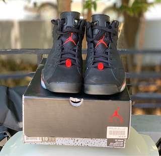 Jordan 6 Black Infrared