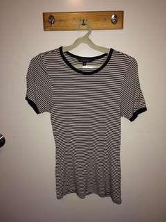 Striped glassons shirt