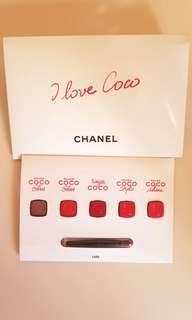 🈹包郵 Chanel coco 唇膏