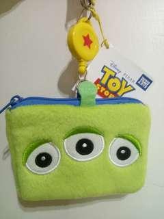 三眼外星寶寶-小型收納袋