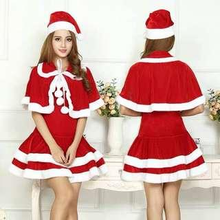 Christmas santarina costume with cape