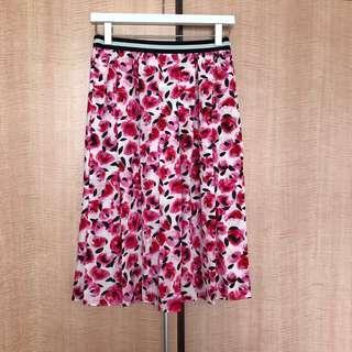 {NEW} KATE SPADE New York mini rose pleated skirt